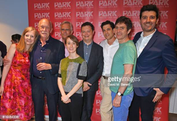 Denise Silvey Hugh Ross Philip Bretherton Bryony Hannah director Anthony Banks Adam Garcia Paul Higgins and David Sloan attend the press night party...