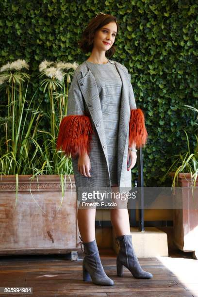 Denise Tantucci attends 'Sirene' tv show photocall at Hotel Bernini on October 24 2017 in Rome Italy