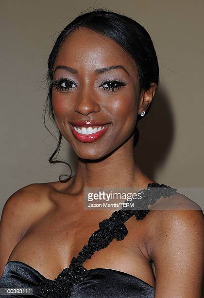 Denise Tarver arrives at the 25th Anniversary Of CedarsSinai Sports Spectacular held at the Hyatt Regency Century Plaza Hotel on May 23 2010 in Los...