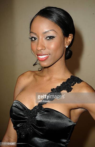 Denise Tarver arrives at the 25th Anniversary Of CedarsSinai Sports Spectacular held at Hyatt Regency Century Plaza on May 23 2010 in Century City...