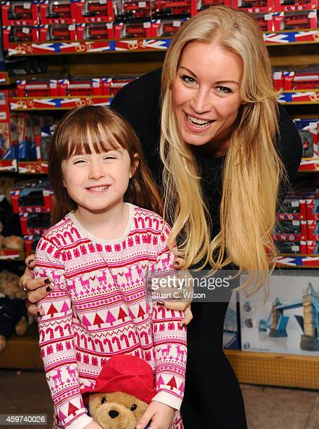 Denise Van Outen and Betsy Mead attend the Magic FM Christmas Party at Hamleys on November 30 2014 in London England
