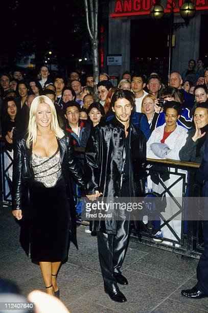Denise Van Outen and Jay Kay at the Elle Style Awards 1998 File Photos