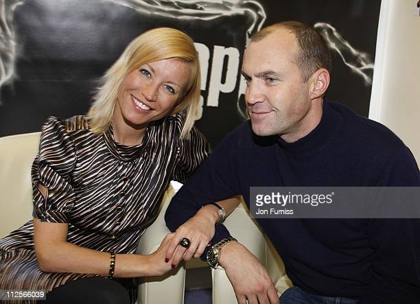 Denise Van Outen and Johnny Vaughan reunite on their new Capital Breakfast Show on February 4 2008 in London England