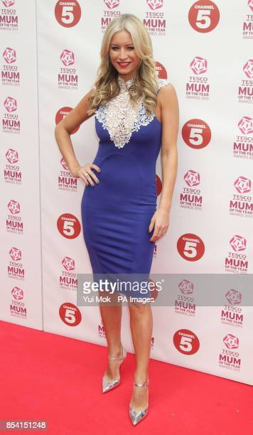 Denise Van Outen arriving for the Tesco Mum of the Year Awards at The Savoy hotel in central London