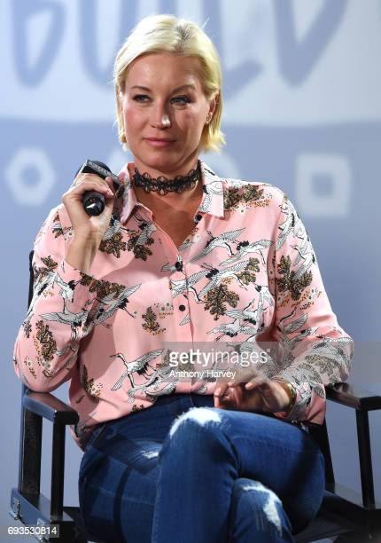 Denise Van Outen at the Build LDN event at AOL London on June 7 2017 in London England