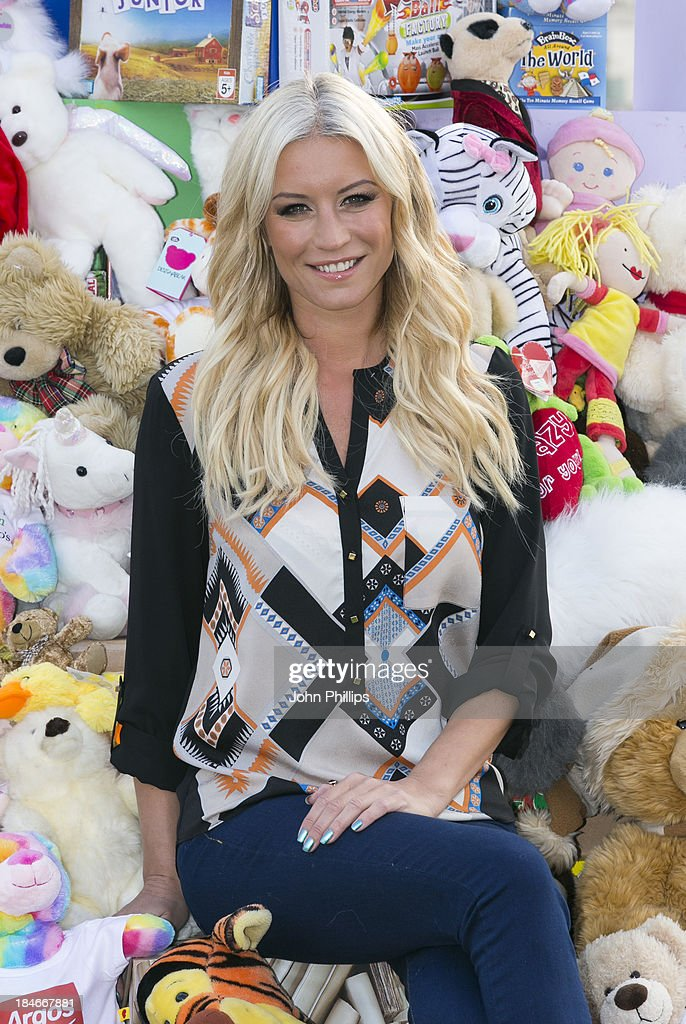 Denise Van Outen Launches Argos' Annual Toy Exchange