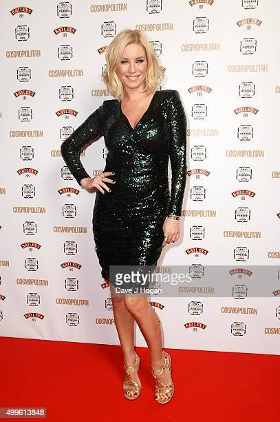 Denise Van Outen attends the Cosmopolitan Ultimate Women Of The Year Awards at One Mayfair on December 2 2015 in London England