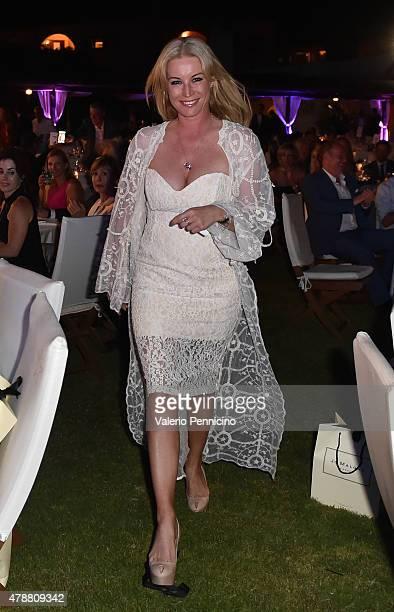 Denise van Outen attends the Gala Dinner following The Costa Smeralda Invitational Golf Tournament at Pevero Golf Club, Costa Smeralda on June 27,...