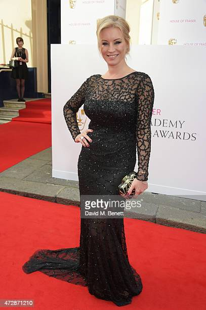 Denise Van Outen attends the House of Fraser British Academy Television Awards at Theatre Royal Drury Lane on May 10 2015 in London England
