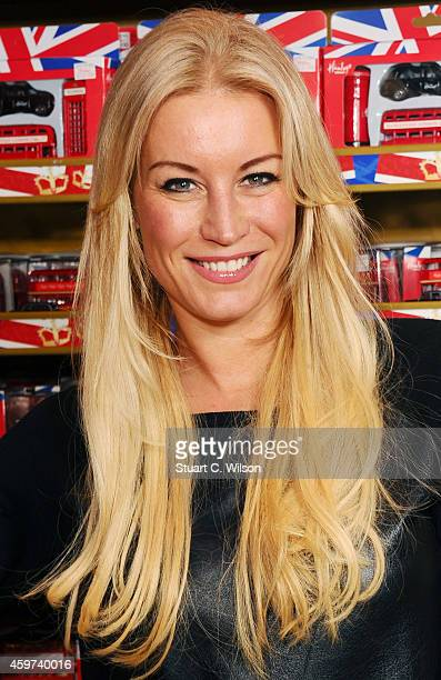 Denise Van Outen attends the Magic FM Christmas Party at Hamleys on November 30 2014 in London England