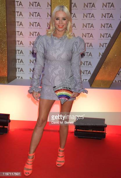 Denise van Outen attends the National Television Awards 2020 at The O2 Arena on January 28, 2020 in London, England.
