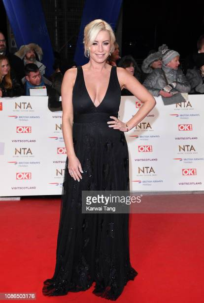 Denise van Outen attends the National Television Awards held at The O2 Arena on January 22 2019 in London England