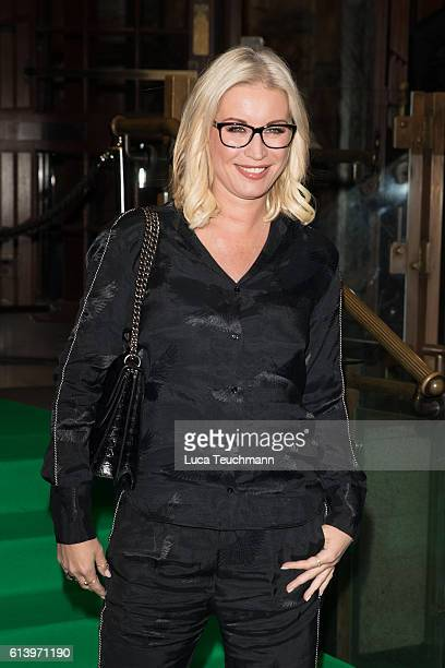 Denise Van Outen attends the Spectacle Wearer of the Year awards on October 11 2016 in London England