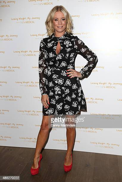Denise Van Outen attends the XLSmedical preview screening at Ham Yard Hotel on August 26 2015 in London England