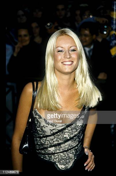 Denise Van Outen during 1998 Elle Style Awards in London Great Britain