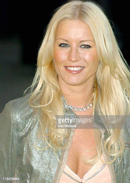 Denise Van Outen during Alien Autopsy London Premiere Outside Arrivals at Leicester Square in London Great Britain