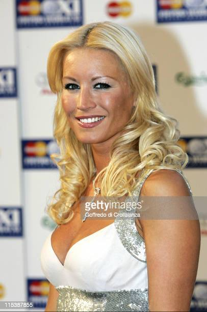 Denise Van Outen during FIFPRO World XI Player Awards at Wembley Conference Centre in London Great Britain