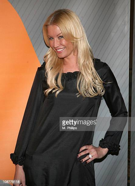 Denise Van Outen during NBC's Winter 2007 TCA Press Tour All-Star Party - Red Carpet and Inside at Ritz-Carlton in Pasadena, California, United...