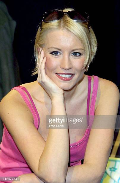 Denise Van Outen during 'Tell Me On A Sunday' Photocall at West End in London Great Britain