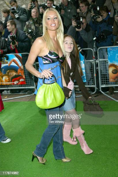 Denise Van Outen during 'The Magic Roundabout' Premiere Arrivals at Vue Leicester Square in London Great Britain