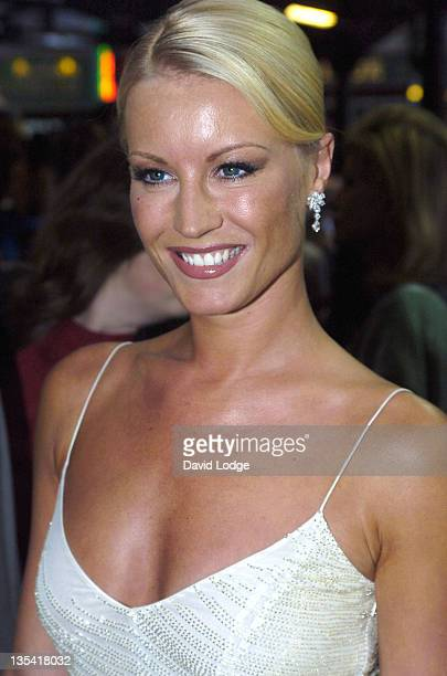 Denise Van Outen during 'The Woman In White' Premiere at The Palace Theatre in London Great Britain