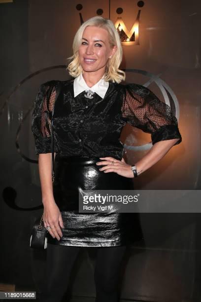 Denise Van Outen seen attending Style for Stroke Foundation: The Fall Ball at Café de Paris on November 20, 2019 in London, England.