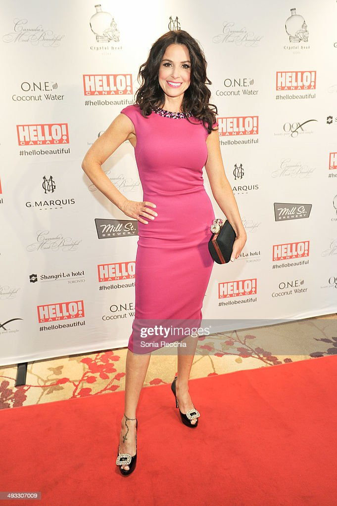Denise Wade attends HELLO! Canada Gala Celebrates Canada's Most Beautiful Gala at Shangri-La Hotel on May 22, 2014 in Toronto, Canada.