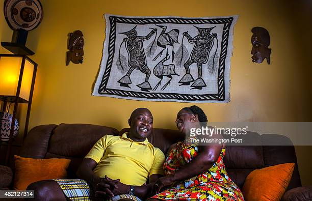 Denise Watson and her husband Samuel Kargbo in the family room of their town house on August 2 2014 in Upper Marlboro MD Watson bought the twobedroom...