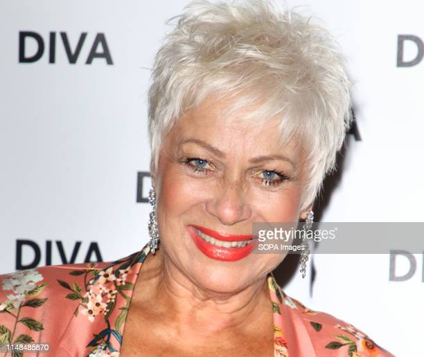 Denise Welch at the DIVA Magazine Awards at the The Waldorf Hilton Aldwych London