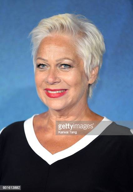 Denise Welch attends the European Premiere of 'A Wrinkle In Time' at BFI IMAX on March 13, 2018 in London, England.