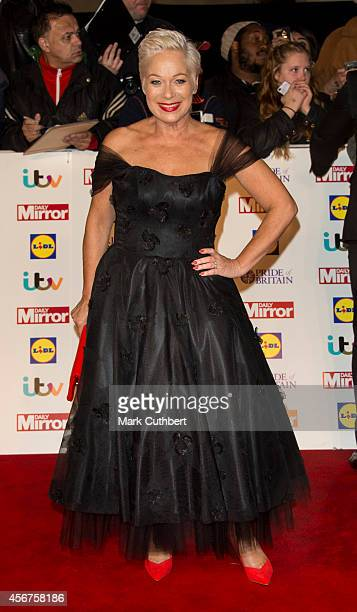 Denise Welch attends the Pride of Britain awards at The Grosvenor House Hotel on October 6, 2014 in London, England.