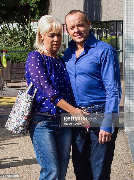 Denise Welch Foto E Immagini Stock Getty Images S Party Animal Husband Saved