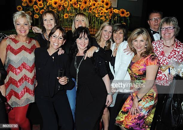 Denise Welch, Sherrie Lawson, Andrea McLean, Coleen Nolan, Carol McGriffin, Jackie Brambles, Lynda Bellingham and Lesley Garrett attend the Gala...