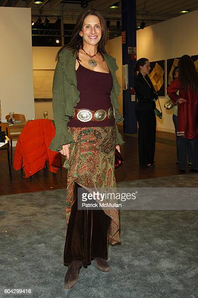 Denise Wohl attends THE ARMORY SHOW 2006 Opening Night Preview Party To Benefit The Exhibition Fund of The Museum of Modern Art at Piers 90 and 92 on...