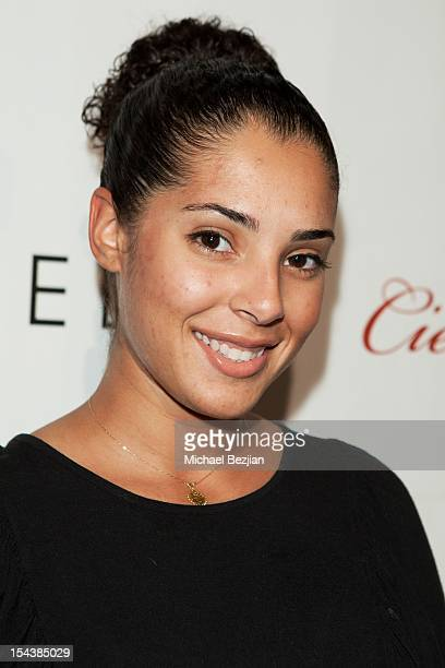 Denise Xavier attends LA Fashion Week Fashion Minga 2012 Event at Exchange LA on October 18 2012 in Los Angeles California