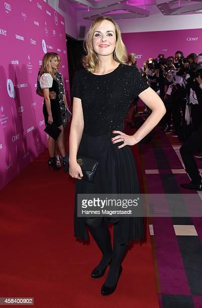 Denise Zich attends the 'CLOSER Magazin Hosts SMILE Award 2014' at Hotel Vier Jahreszeiten on November 4 2014 in Munich Germany