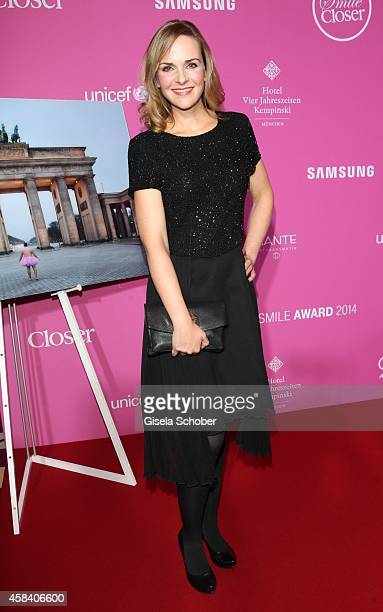 Denise Zich attends the CLOSER Magazin Hosts SMILE Award 2014 at Hotel Vier Jahreszeiten on November 4 2014 in Munich Germany