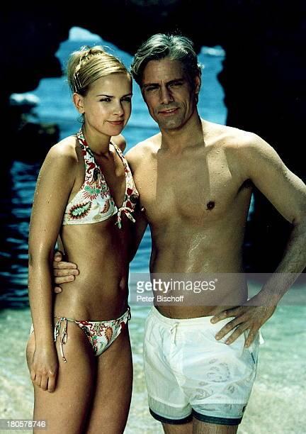 Denise Zich Philipp Brenninkmeyer ARDReihe Lieben Lügen Leidenschaften Capri/Italien Bikini sexy umarmen 436/2001