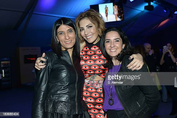 Deniz Berdan and guests attend the Maybelline New York By DB Berdan afterparty during MercedesBenz Fashion Week Istanbul s/s 2014 presented by...