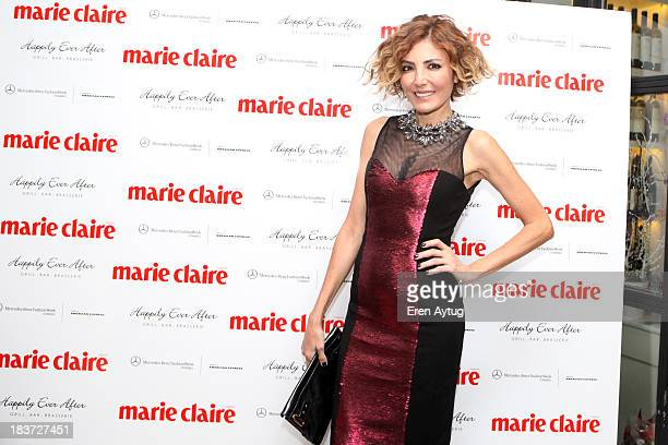 Deniz Berdan attends as Marie Claire host a party to celebrate MercedesBenz Fashion Week Istanbul s/s 2014 presented by American Express on October 9...