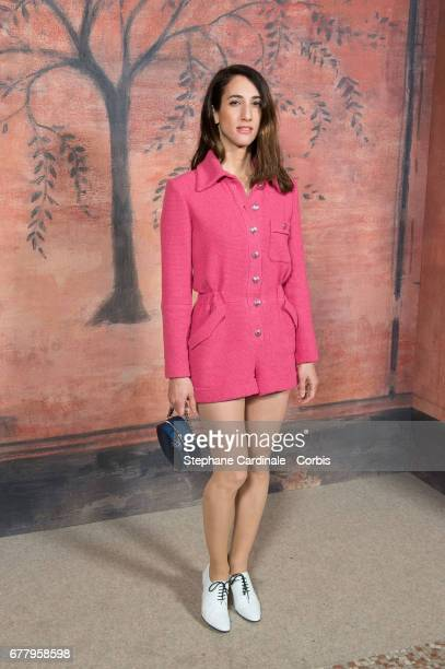 Deniz Gamze Erguven attends the Chanel Cruise 2017/2018 Collection Photocall at Grand Palais on May 3 2017 in Paris France