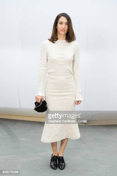 Deniz Gamze Erguven attends the Chanel show as part of the Paris Fashion Week Womenswear Fall/Winter 2017/2018 on March 7 2017 in Paris France