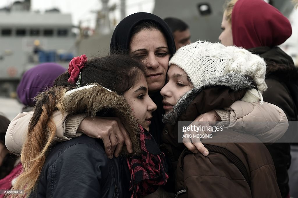 GREECE-SYRIA-EUROPE-MIGRANTS : News Photo
