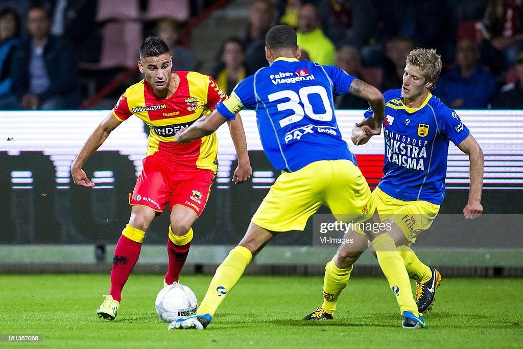 Deniz Turuc Of Go Ahead Eagles Ramon Leeuwin Of Cambuur Leeuwarden News Photo Getty Images