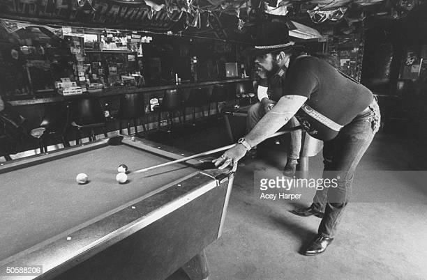 Denizen of Last Resort bar seen playing pool where lesbian serial murderer Aileen Wuormos was arrested