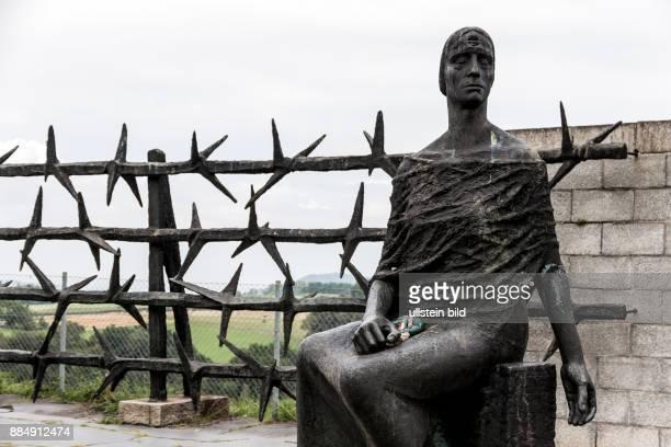 Denkmal zur Erinnerung im Konzentrationslager Mauthausen in Österreich KZ der Stufe III von 1938 bis 1945