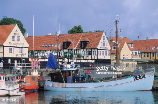 Denmark, Bornholm Island, Svaneke harbour