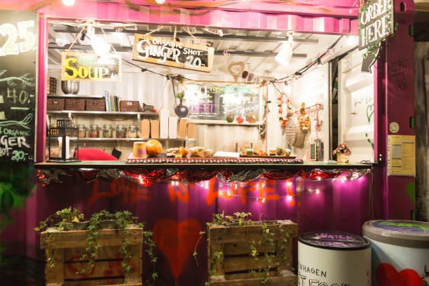 Denmark Copenhagen Reffen street food market
