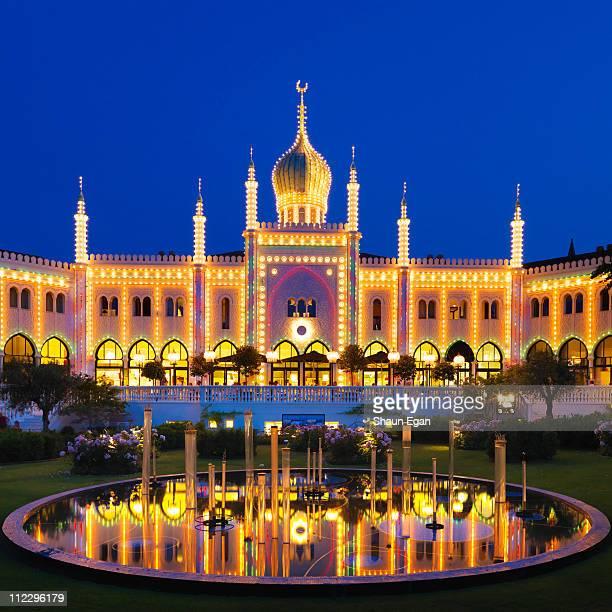 Denmark, Copenhagen, Tivoli Gardens, Bazaar
