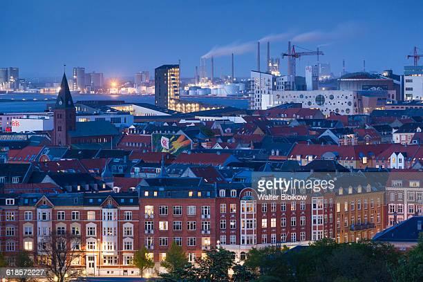 denmark, jutland, exterior - aalborg stock pictures, royalty-free photos & images